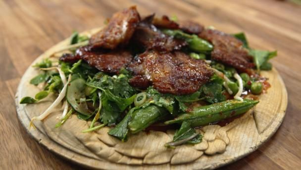 Thai lamb salad with spicy dressing recipe lambs dressings and bbc food recipes thai lamb salad with spicy dressing luxurious leftovers home comforts forumfinder Choice Image