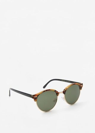 cd3bbca2c6a4 Tortoiseshell retro sunglasses - Women | shades, hats, and flower ...