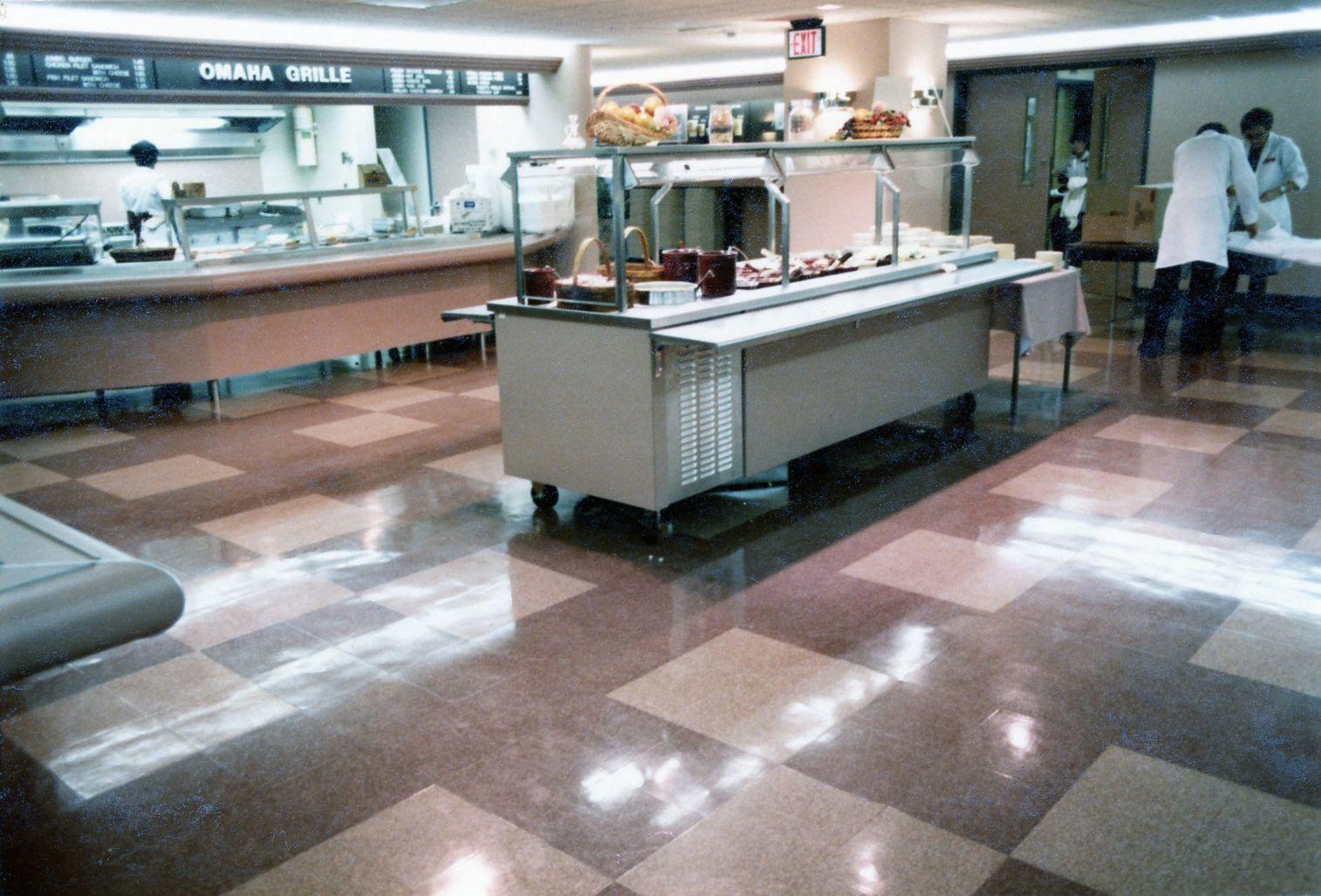 Cafeteria Flooring Fritztile Terrazzo Tile Flooring