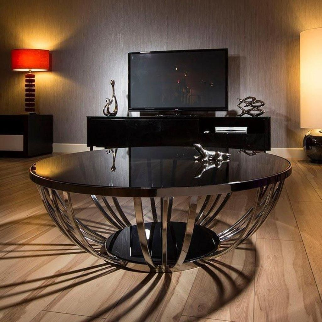 30 amazing glass coffee tables ideas round glass coffee on stunning wooden metal coffee table id=41480
