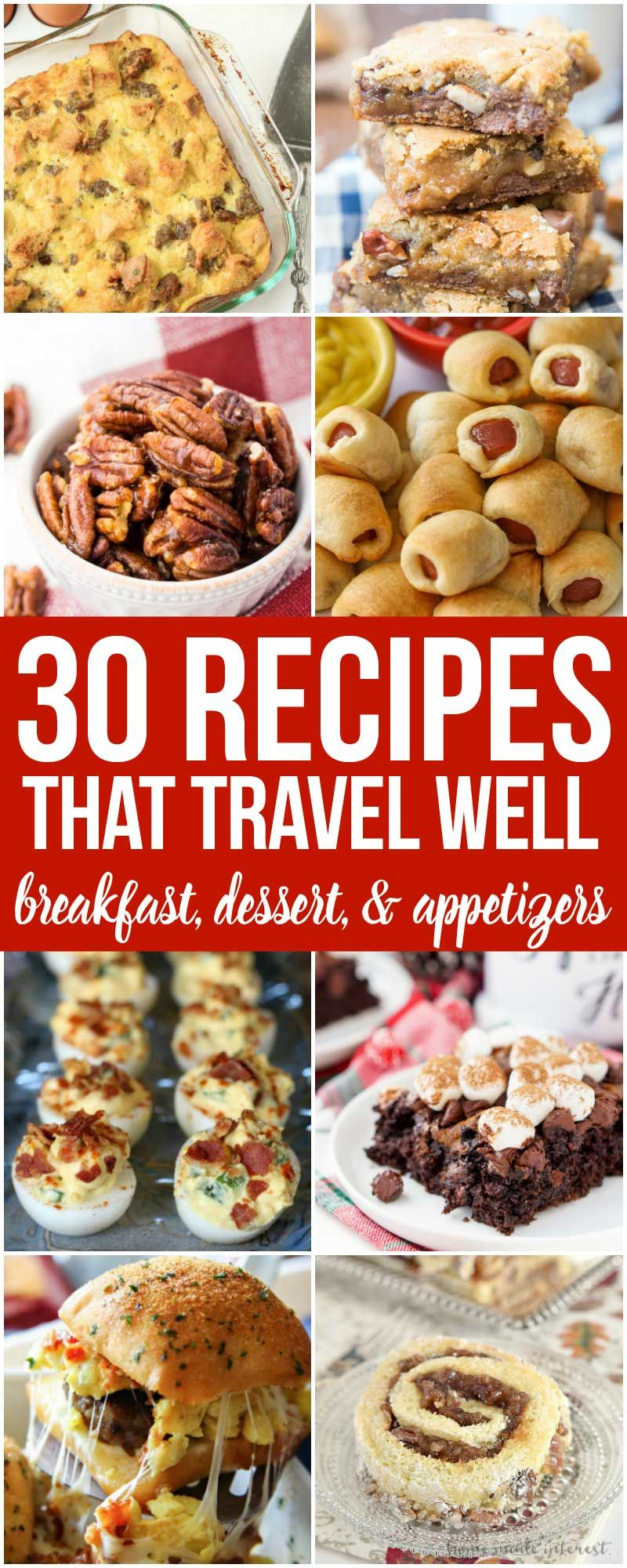 Recipes That Travel Well | Travelingmom