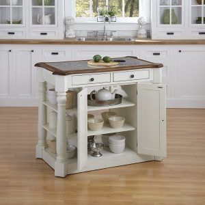 Medium image of home styles americana kitchen island white