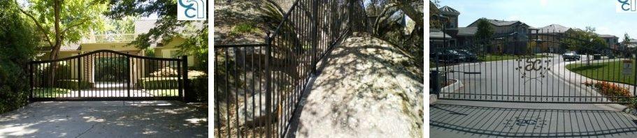 Wrought Iron Fencing and Gates Sacramento - http://controlledaccessconsultants.com/