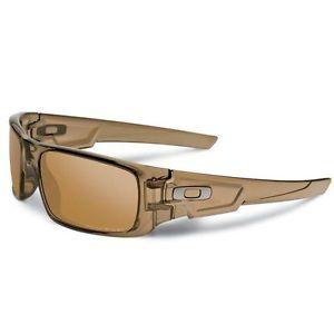 242e92300b Oakley CRANKSHAFT Brown Smoke Tungsten Iridium Polarized Sunglasses ...