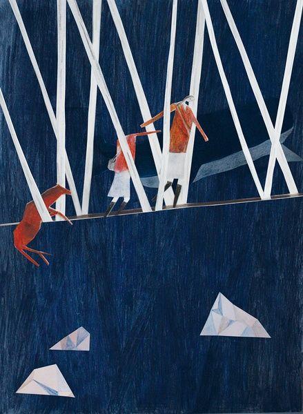 葵綠的相冊-《寒冬夜行人》——卡爾維諾