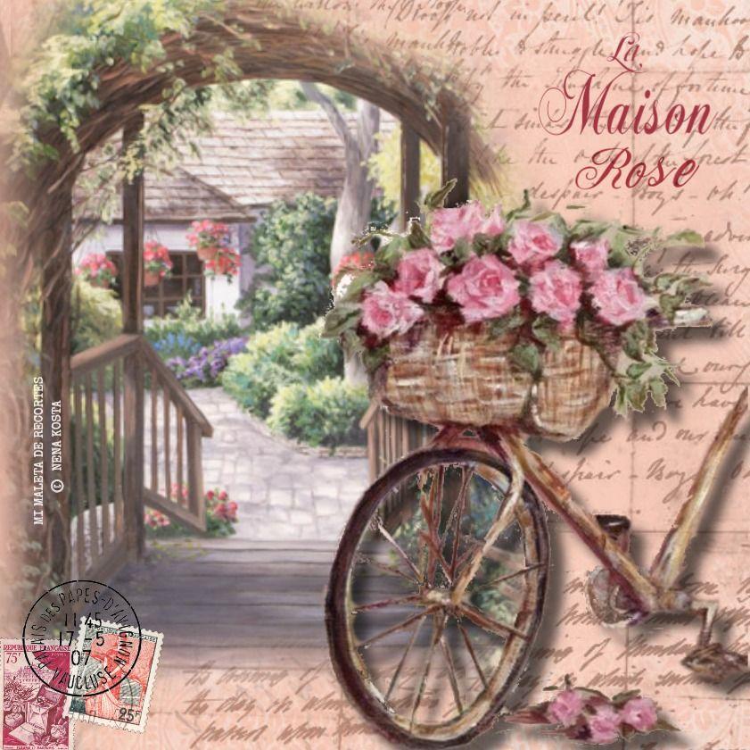 Картинки винтажные велосипеды, изображением лисы для