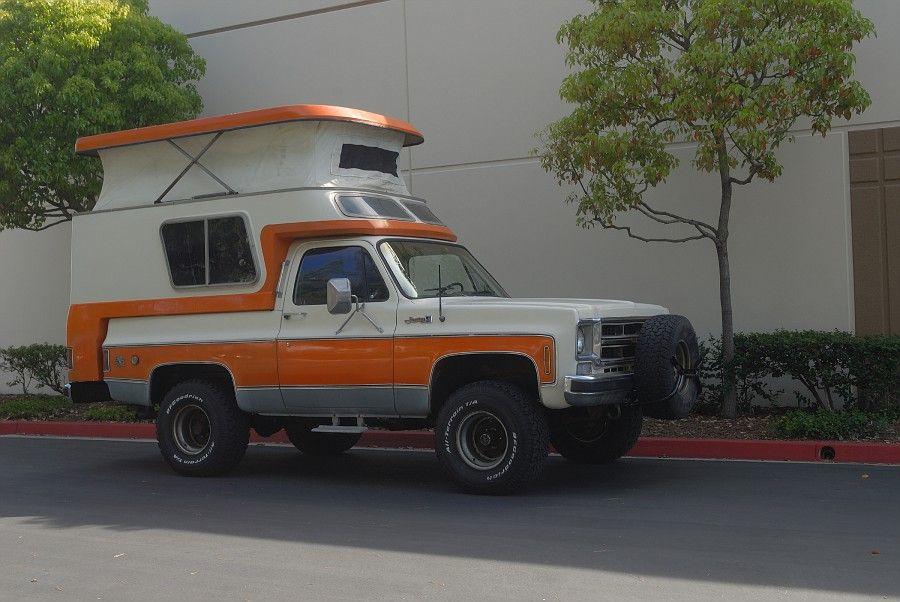 1976 Gmc Jimmy Casa Grande Camper Autocaravana Rv Vintage