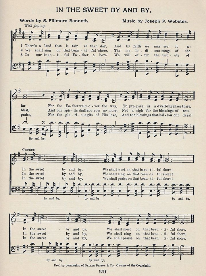 Lyric in sweet by and by lyrics : Pin by Mary Phares on Hymns | Pinterest | Songs, Gospel song ...