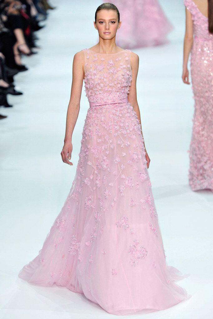 Elie Saab Spring 2012 Couture Fashion Show | Pinterest | Moda de ...