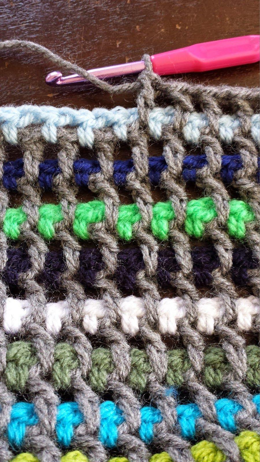 T-jonge: Patroon vlechtsteek deken deel 1