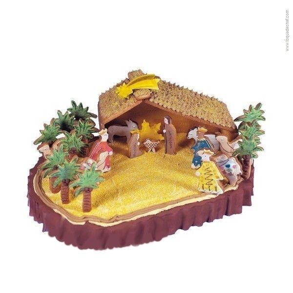 Un presepe di biscotti tutto da mangiare! Facile da fare con il set natalizio della Staedter! http://www.chicchera.it/shop/tagliabiscotti-presepe/