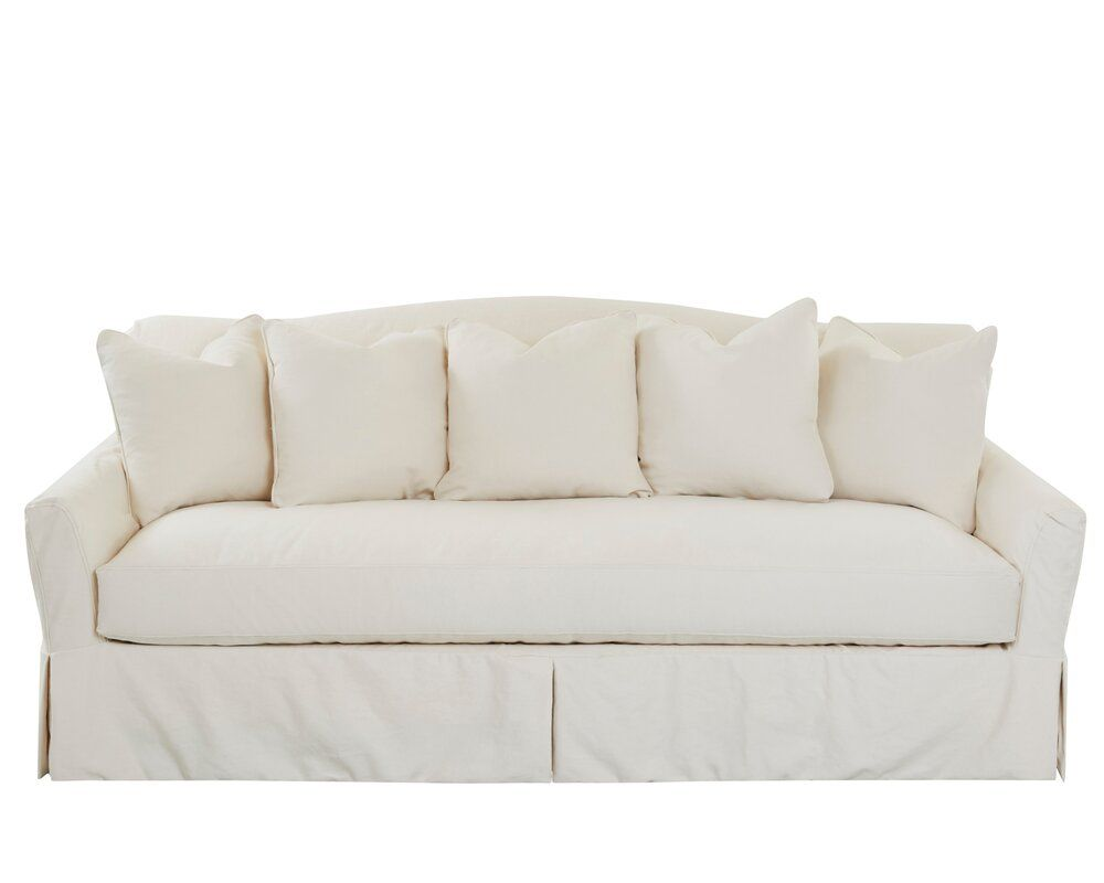 Birch Lane Heritage Fairchild Slipcovered Sofa Reviews Wayfair Slipcovered Sofa Cushions On Sofa Sofa