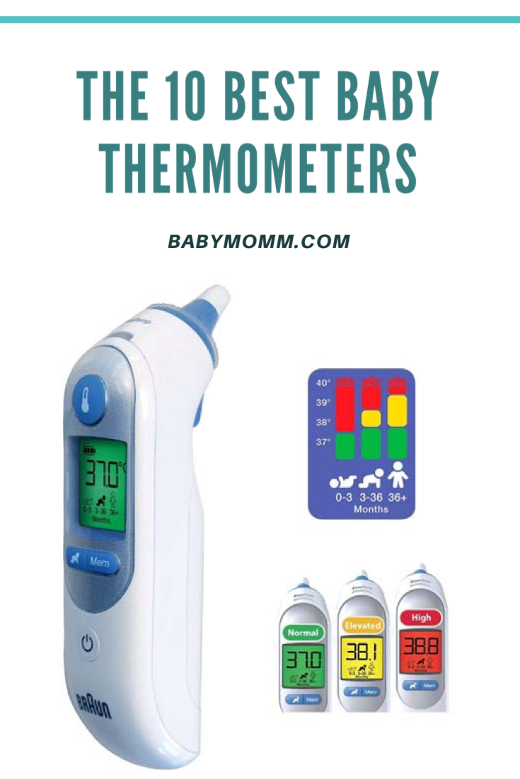 The 10 Best Baby Thermometers of 2020 (With images) Baby