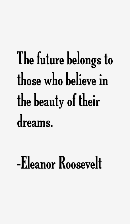 Eleanor Roosevelt Quotes & Sayings