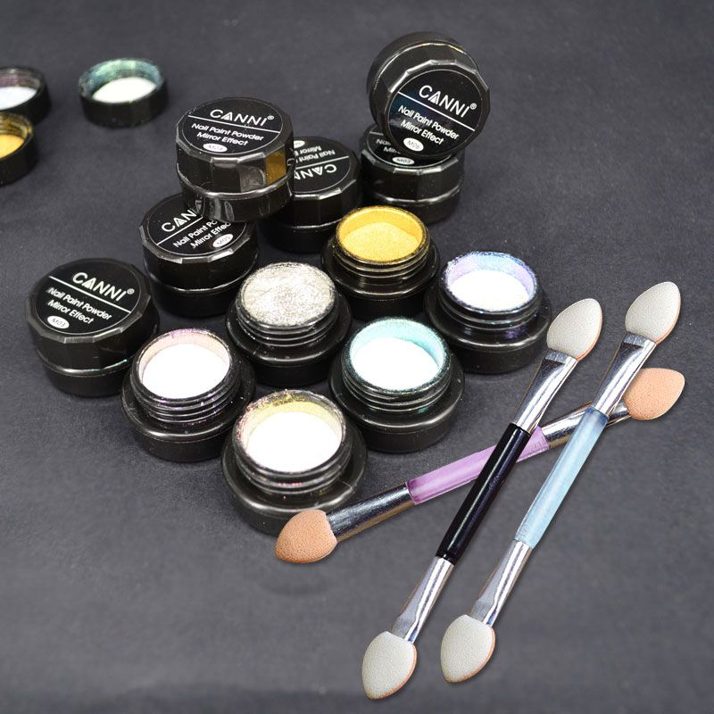 61603 CANNI uñas profesional arte magnética mágica maquillaje espejo ...