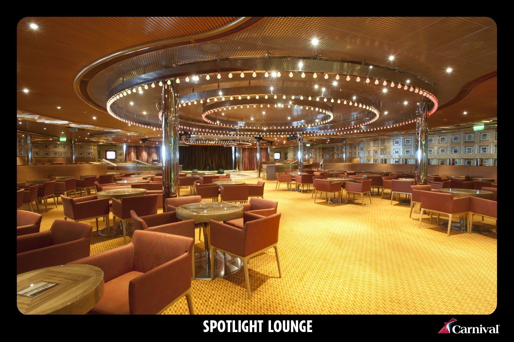 Spotlight Lounge On The Carnival Magic (With images
