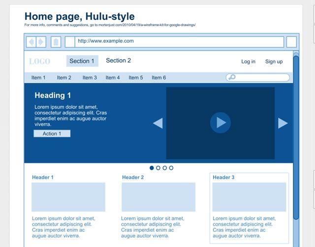 Useful Google Docs Templates For Web Mobile App Designers Web - Google docs drawing templates