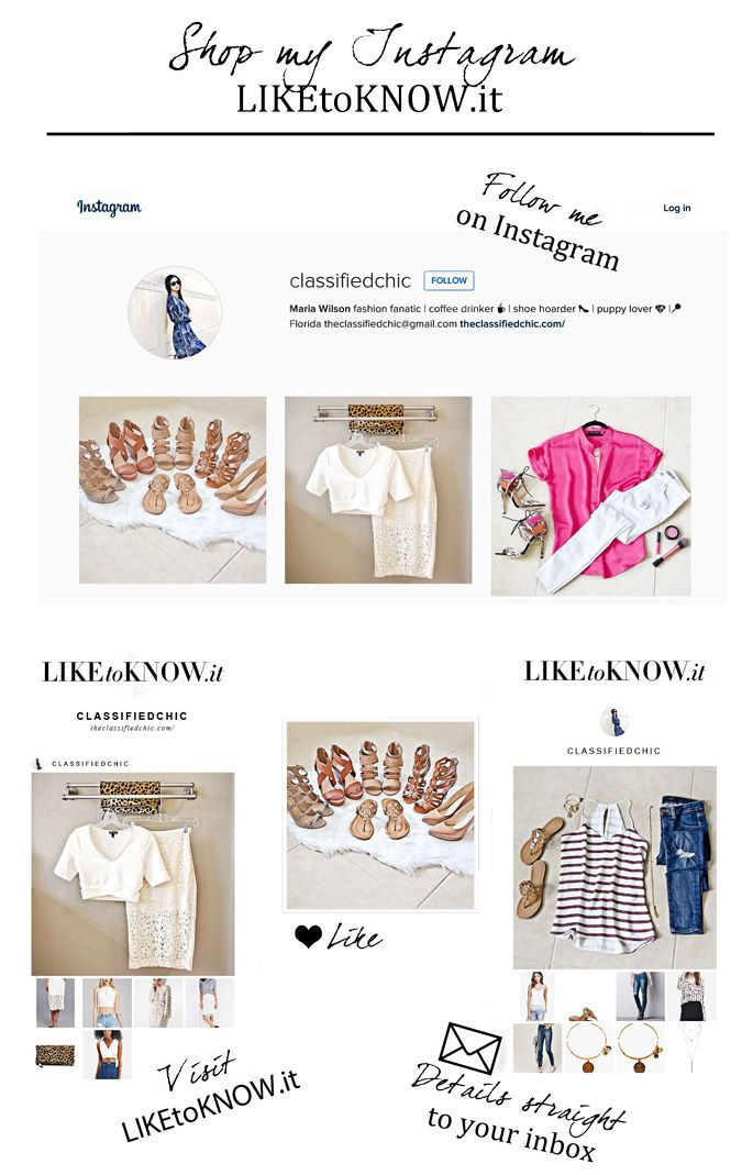 Shop my Instagram with LIKEtoKNOW.it | The Classified Chic #bloggerstyle #liketoknowit #instgramfashion