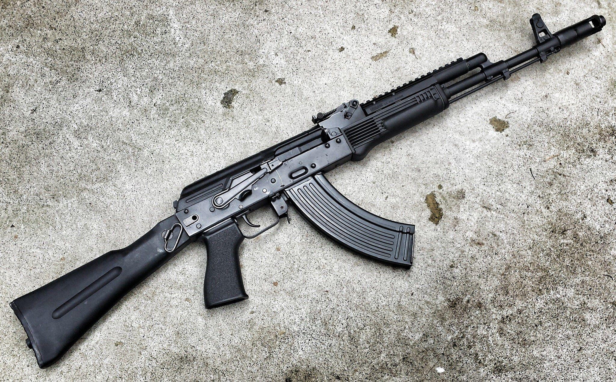 2048x1272 Px Ak 47 Rifle Wallpaper Free Hd Widescreen By Ditte Little