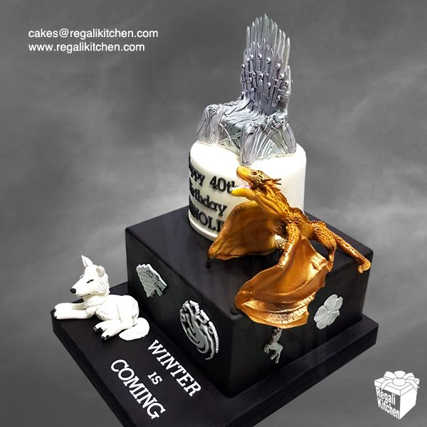 Game of Thrones Dragon Cake Topper
