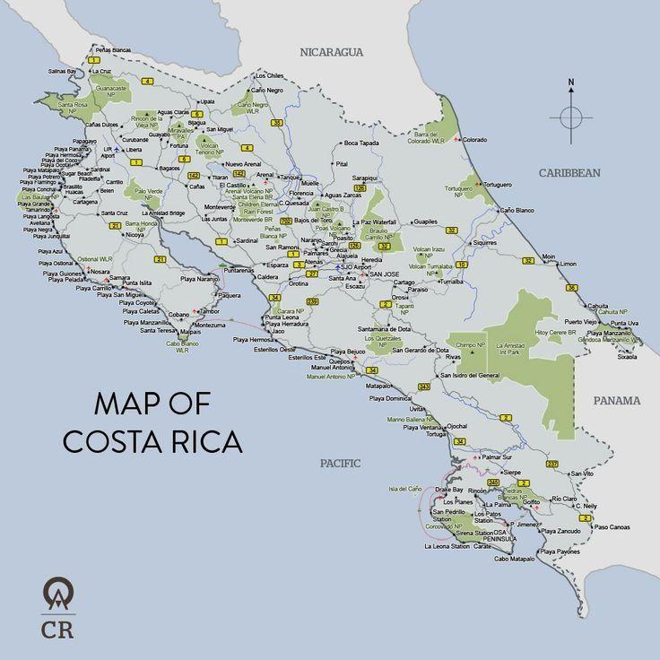 san antonio de belen costa rica map With Images Costa Rica Map Costa Rica Vacation Costa Rica Beaches san antonio de belen costa rica map