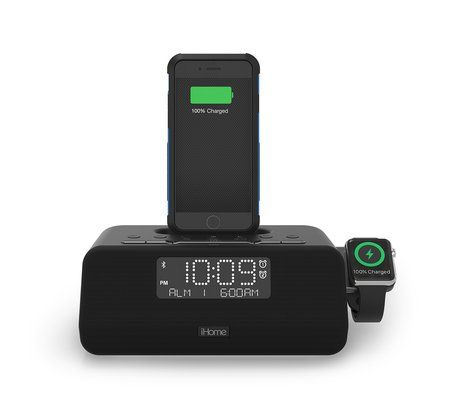 Ihome Iplwbt5 Apple Watch Watch Charger Alarm Clock