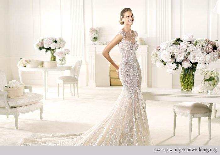 Image detail for -Nigerian Wedding Dresses Pronovias 2013 Spring Summer Bridal - Wedding ...