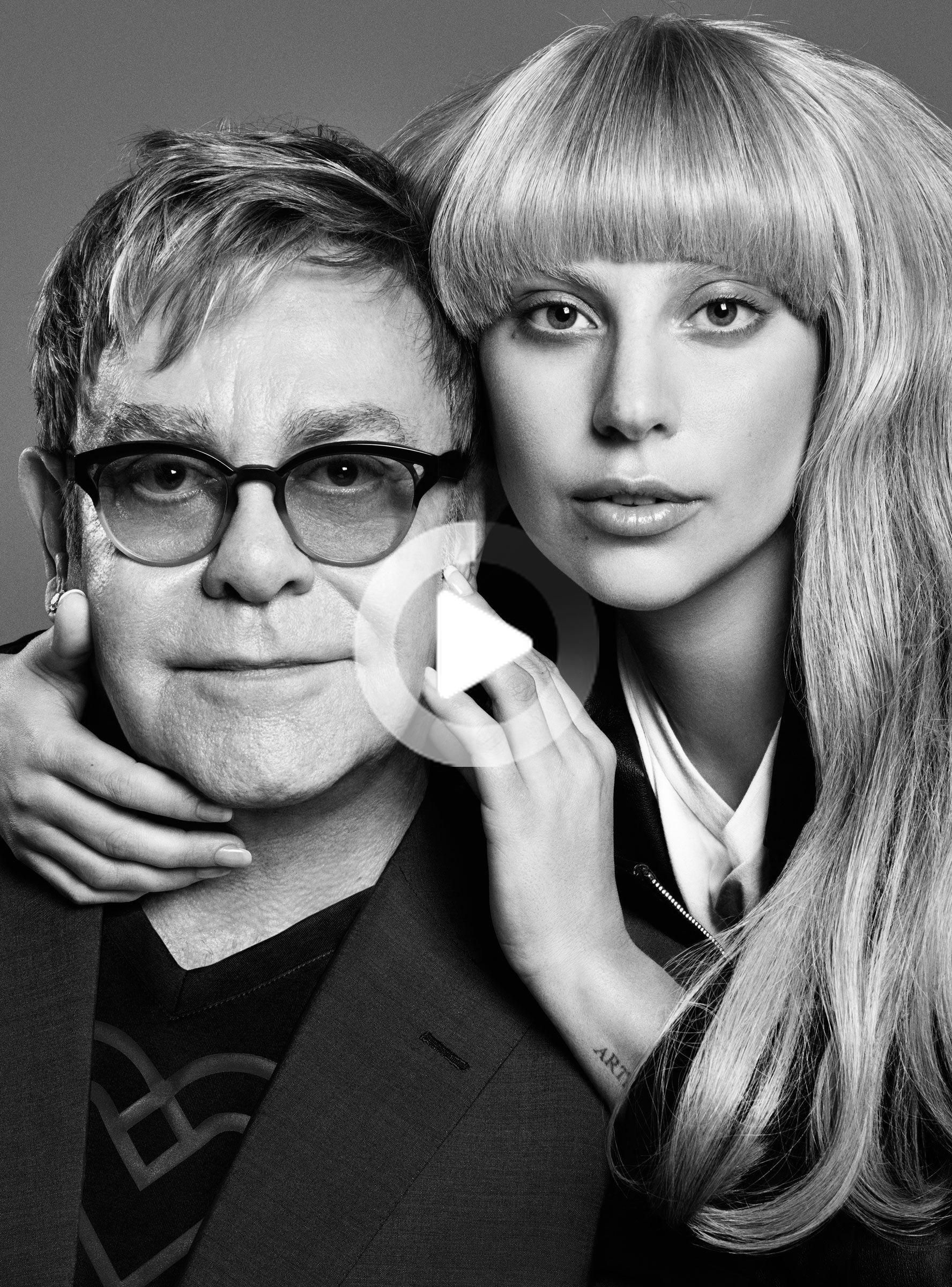 Lady Gaga and Elton John are releasing a collection at Macy's called Love Bravery. #celebrities #holywood