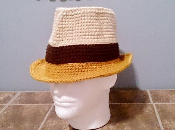 Crochet Fedora Hat Patterndiagramsphotosstep By Step By Shorah