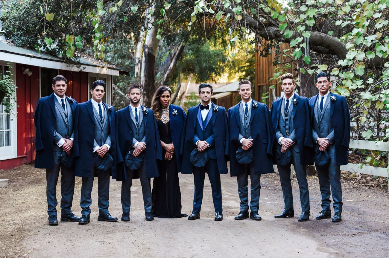 Dwts mark ballas bc jeanus bold bohemianinspired wedding