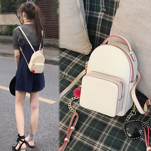 Women s Faux Leather Small Mini Backpack Rucksack Daypack Travel Bag Purse  Cute ff0bc20dbc8ca