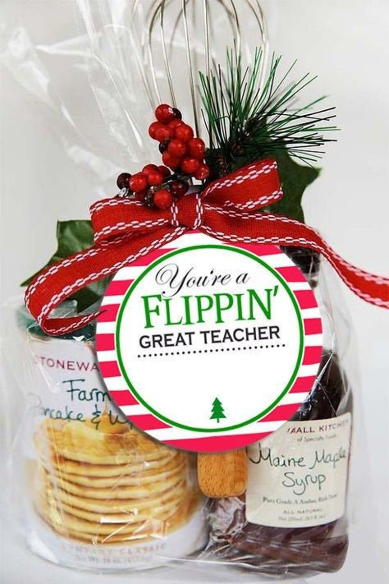 Christmas Gift Tag / Breakfast Gift / Spatula Gift
