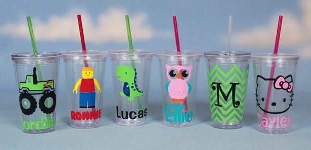 fun personalized tumbler with straw at veryjane com cause i am a