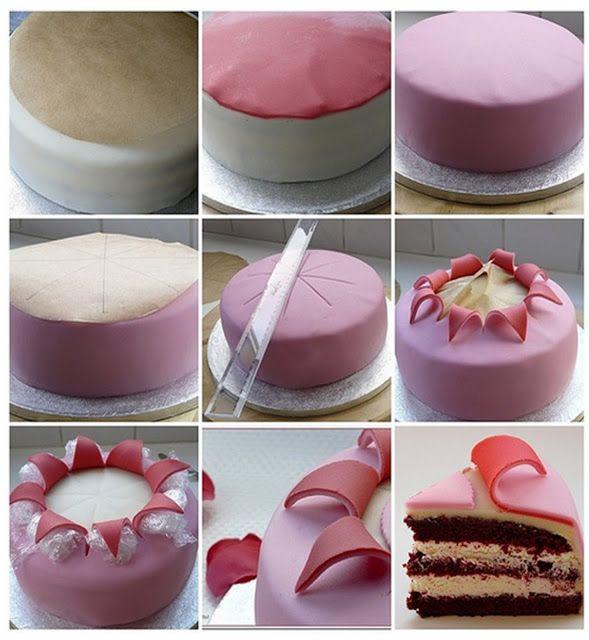 Mister Party Shop Effetto Esplosione Con Pasta Di Zucchero Torte Cupcake Torte Creative Tutorial Sulla Decorazione Di Torte