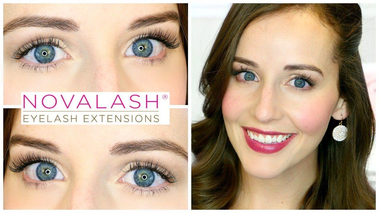FULL LASH EXTENSION REVIEW | Full lashes, Lash extensions ...