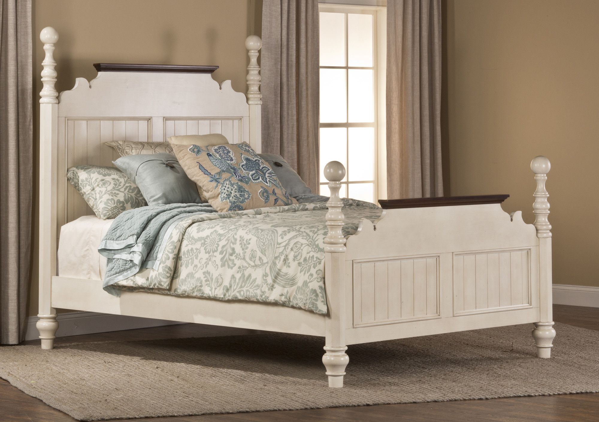 Pine Island Panel Bed Hillsdale furniture, Furniture