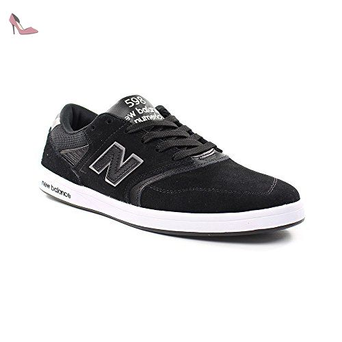 New Balance Numeric , Basses mixte adulte Noir noir, 45