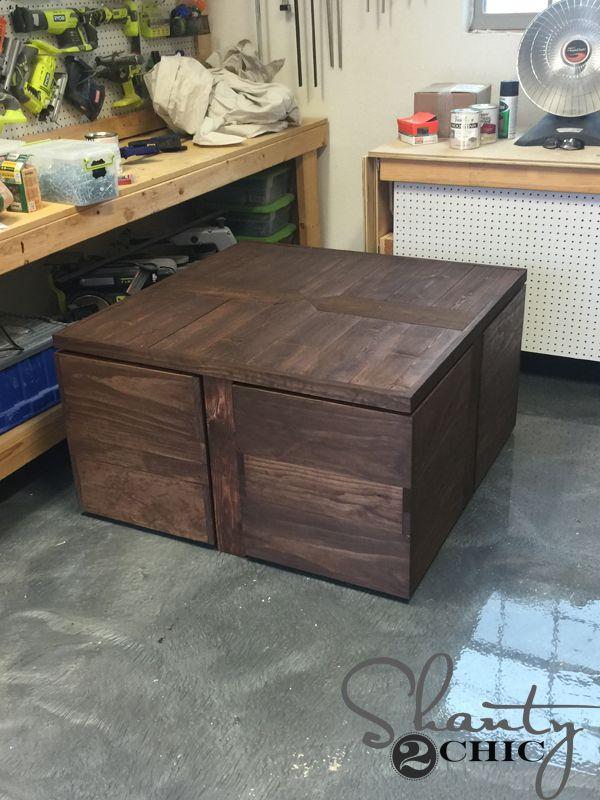 Fine Diy Rolling Storage Ottoman Coffee Table Storage Ottoman Ibusinesslaw Wood Chair Design Ideas Ibusinesslaworg