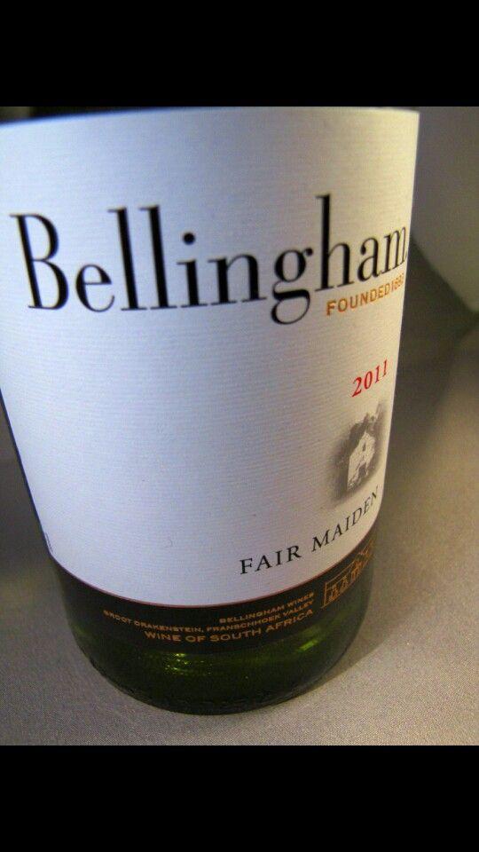 Bellingham Fair Maiden 2011, Zuid Afrika   http://www.wijngekken.nl/2014/02/25/bellingham-fair-maiden-2011-zuid-afrika/