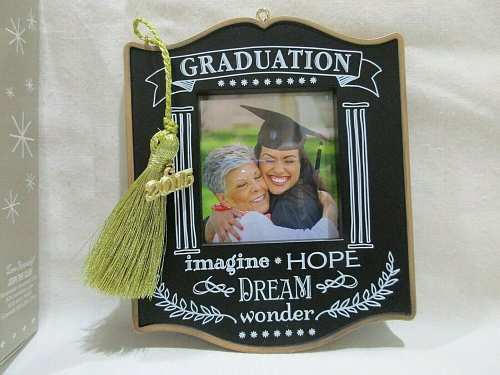 Details about hallmark keepsake graduation ornament photo