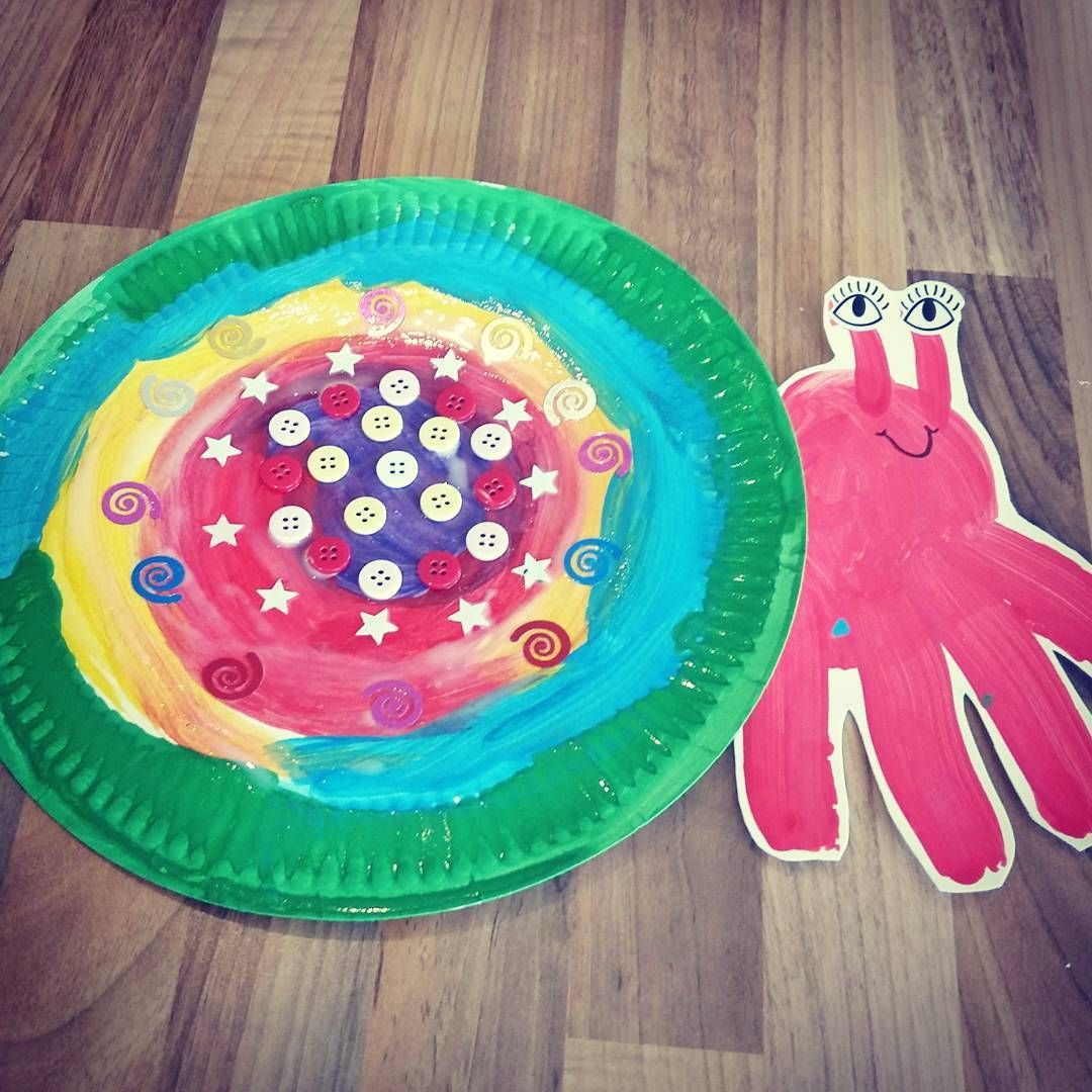Paper Plate Hermit Crab Super Easy To Make All You Need Is A