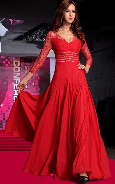 Les robes longues rouge