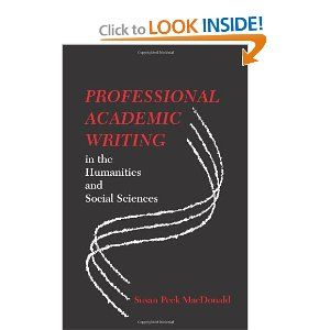 academic writing social sciences