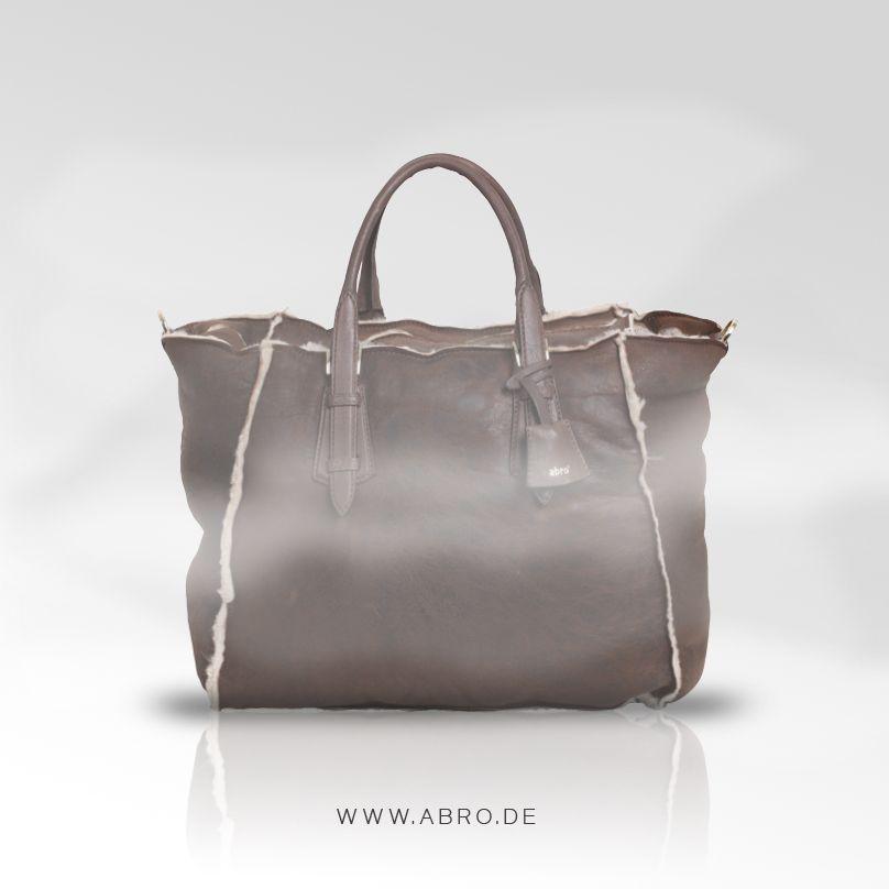 Abro Lammfell Tasche Braun Braune Tasche Taschen Und Lammfell