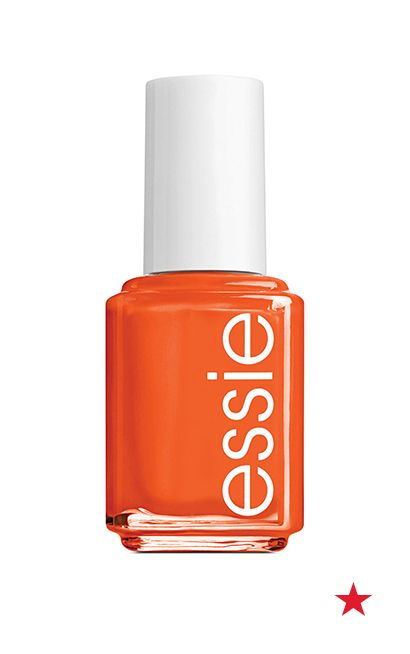 Everything is brighter in the summer, especially the manicures! So, go ahead and pick the most eye-popping of the bunch. We're totally crushing on this tangerine shade, meet me at sunset by essie. And before you even ask, yes, it's perfect for pedicures, too!