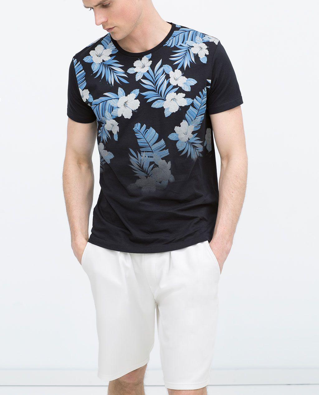 2016 Estilo Coreano Traje de Flores Camisas Para Hombre