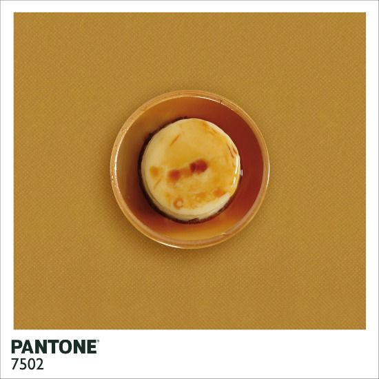 Pantone Food by Alison Anselot
