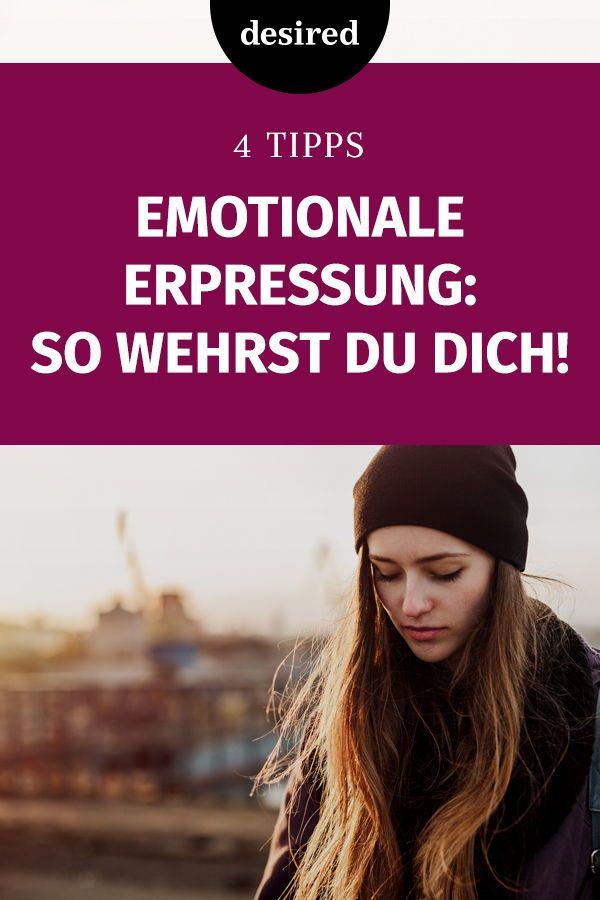 4 Tipps: So kannst du dich gegen emotionale Erpressung