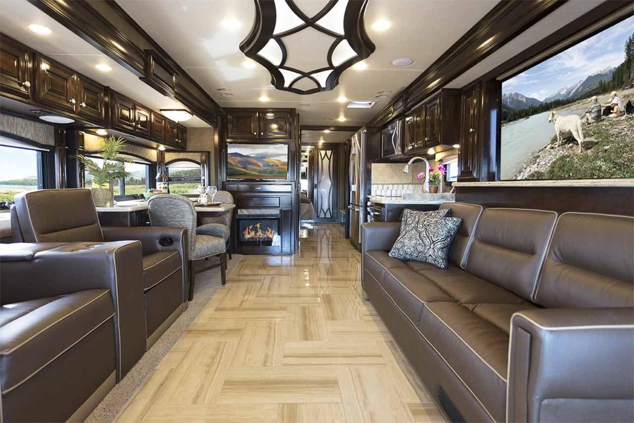 2016 tuscany luxury diesel motorhomes motorhome interior