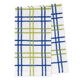 Picture of Blue Plaid Tea Towel - 2 Pack